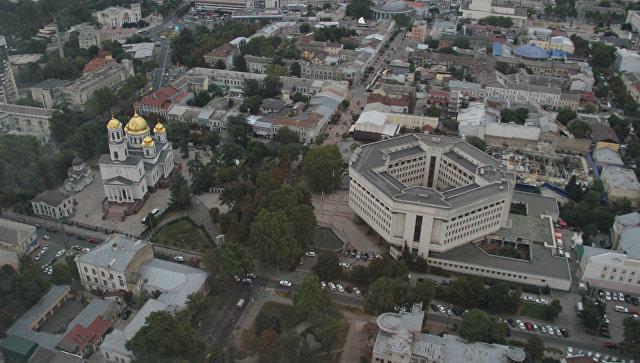 В центре Симферополя «срежут» этаж одного из зданий