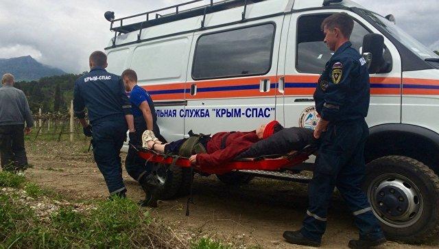 В горах Крыма туристке стало плохо с сердцем