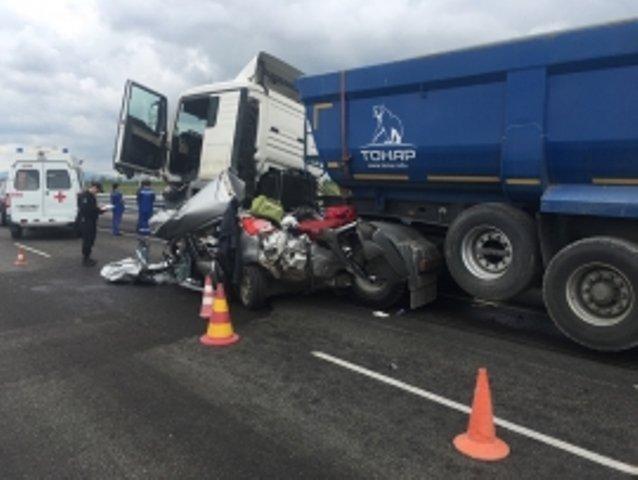 Страшное ДТП на трассе «Таврида»: трое погибших