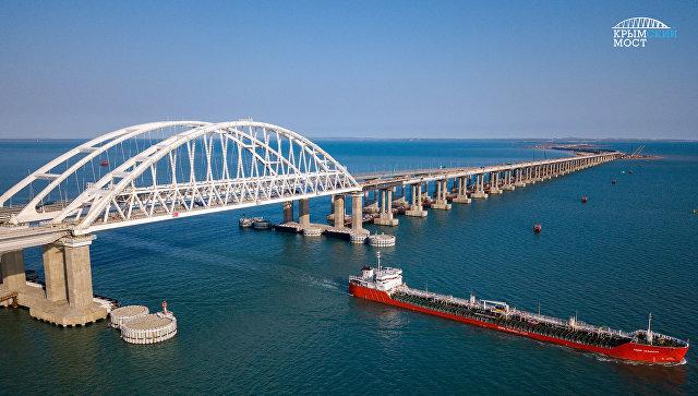 Сколько весит Крымский мост