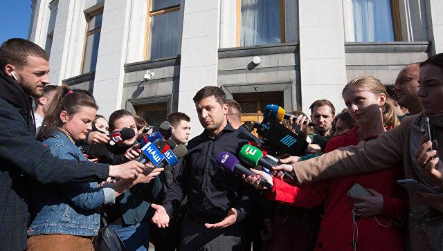 Зеленский подбирает кандидатов на государственные должности