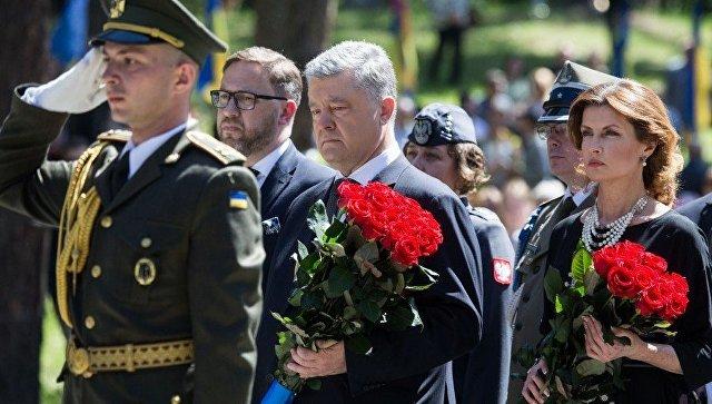 Как Порошенко провел свой последний день в роли президента