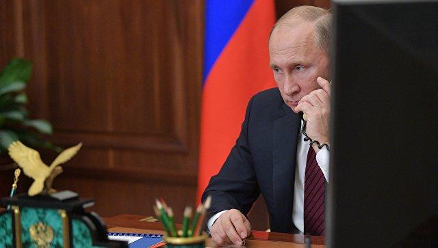 Путин обсудил с Меркель и Макроном ситуацию на Украине