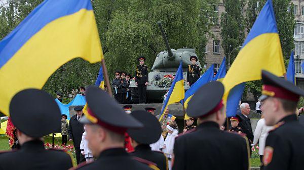 В Киеве началась альтернативная акция «Украинский бессмертный полк»