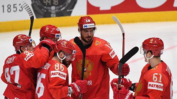 Сборная России по хоккею одержала самую крупную победу в своей истории