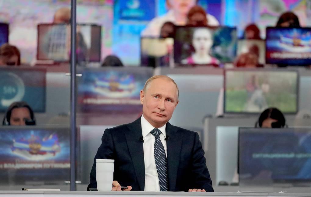 В Кремле определились с датой прямой линии Путина