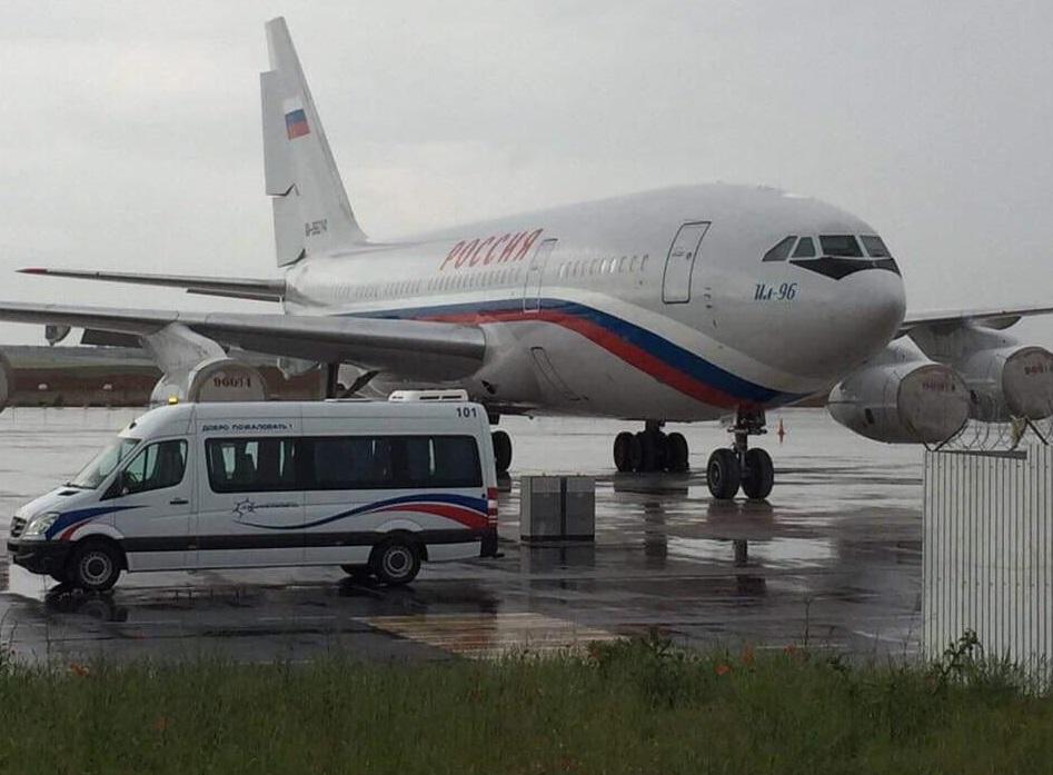 В аэропорту Симферополя заметили президентский спецборт