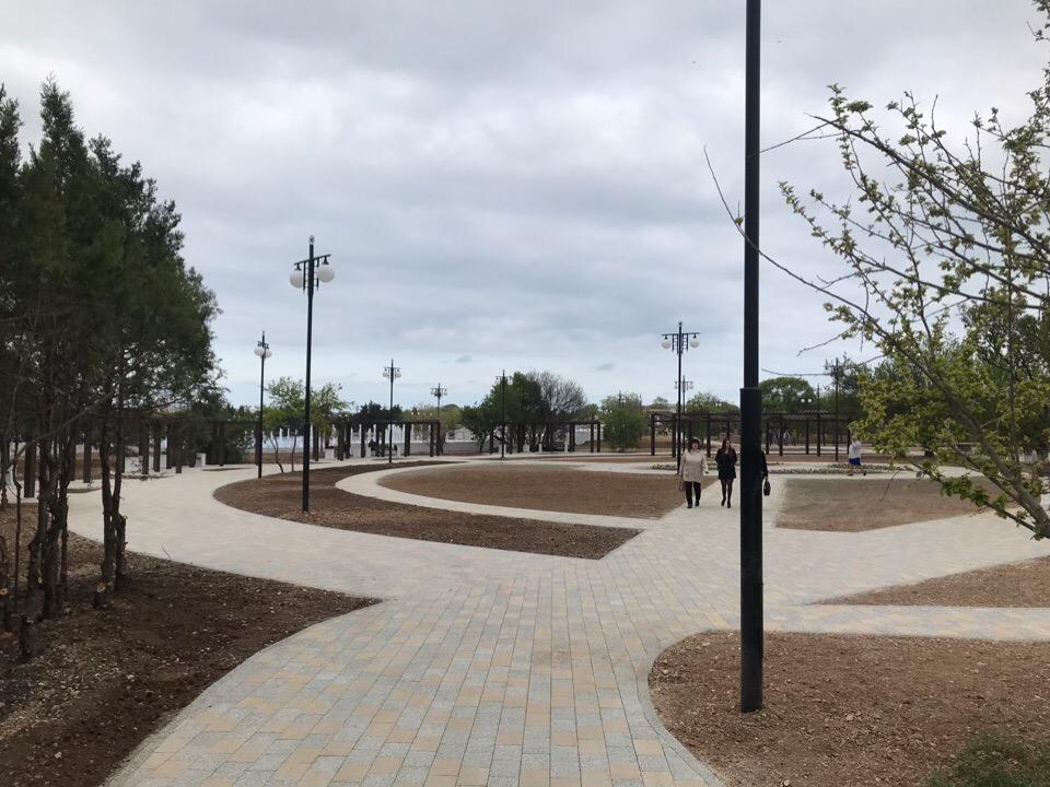 Парке Победы