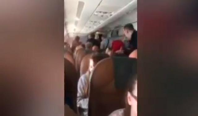 Устроившего дебош перед смертью пассажира рейса Москва – Симферополь сняли на видео