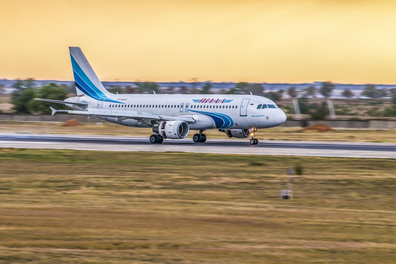В Крыму запущен первый прямой авиарейс в Тюмень