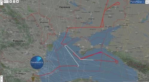 Американский беспилотник провел разведку у берегов Крыма