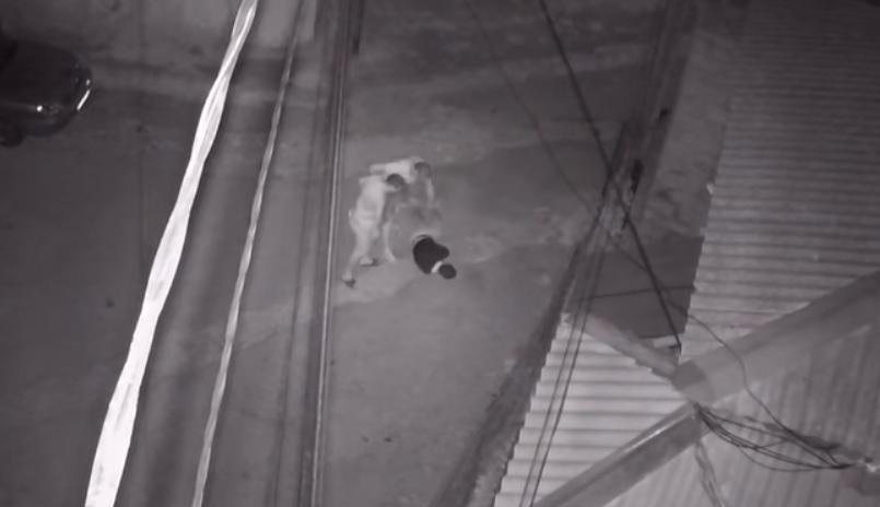 Жестокое избиение крымчанина попало на видеокамеры