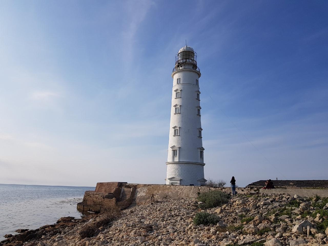 Блог путешественника по Крыму: Херсонесский маяк в Севастополе