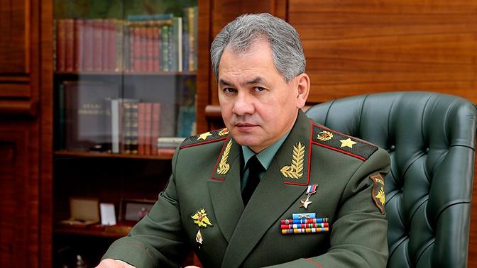 Сергей Шойгу поздравил ветеранов и военнослужащих с Днем Победы