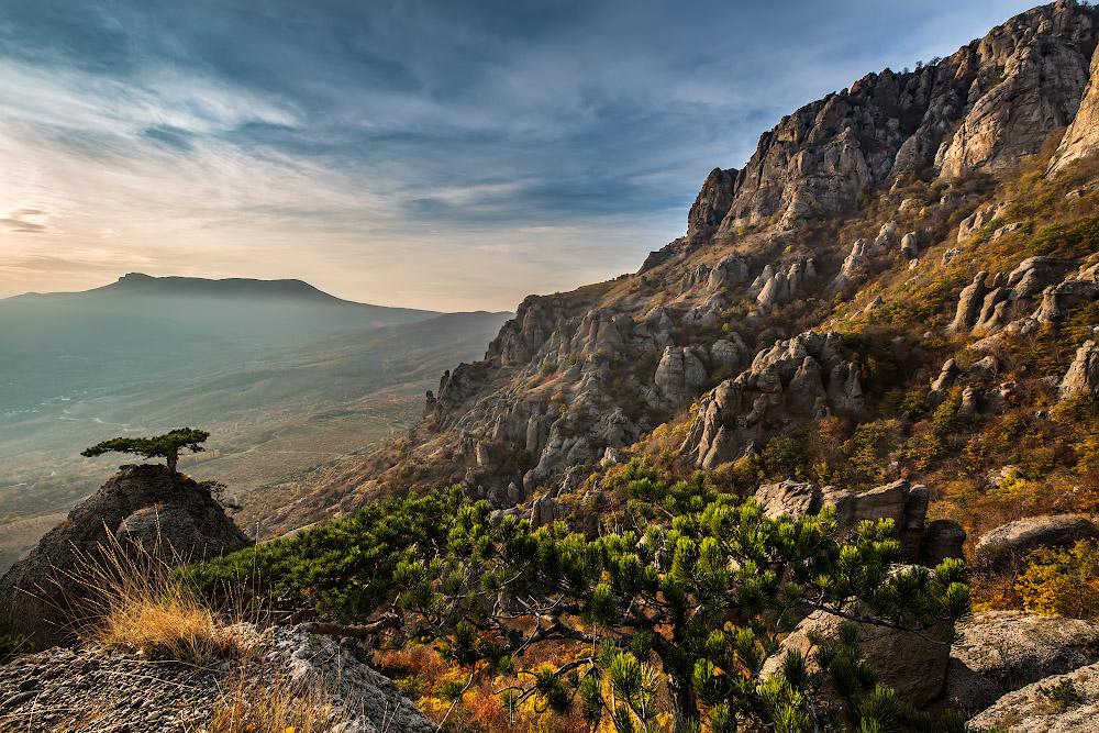 В Крыму на горе нашли труп мужчины
