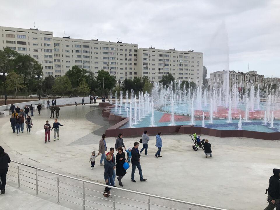 В Севастополе открыли Центральную аллею Парка Победы после реконструкции