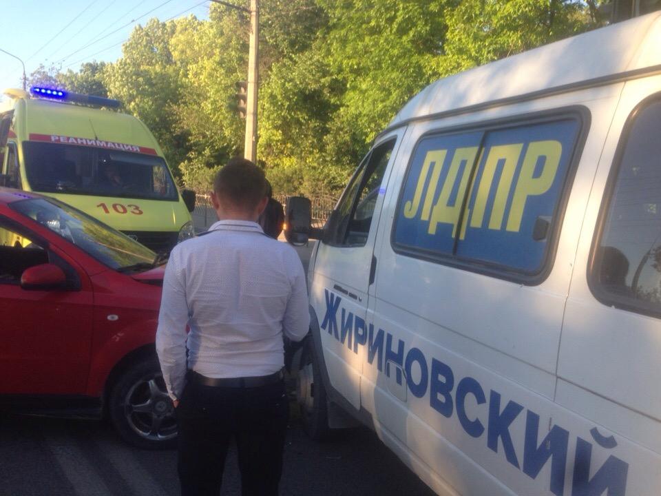 В Симферополе имущество ЛДПР пострадало из-за крика ребенка