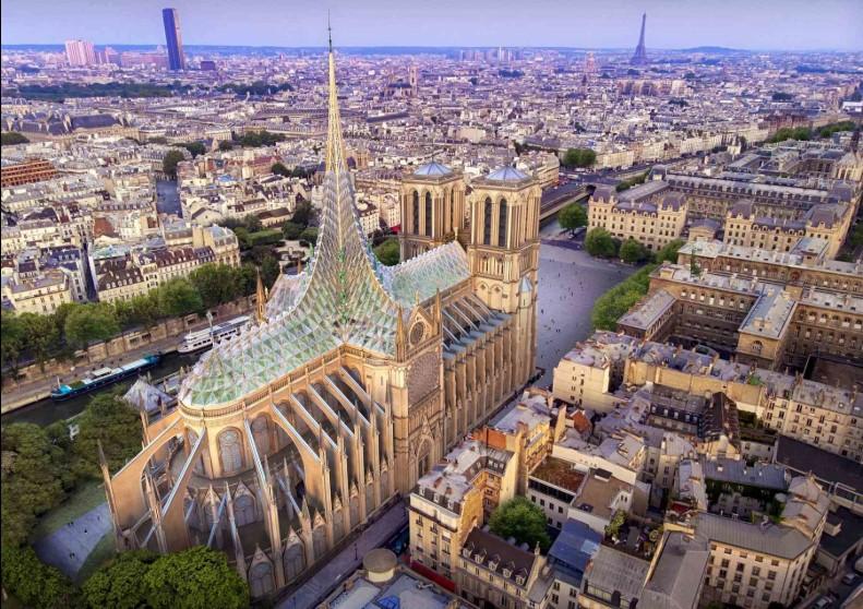 Во Франции представили проект реставрации Нотр-Дам-де-Пари