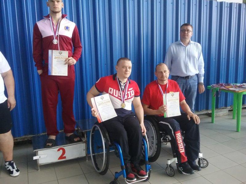 Паралимпиец из Севастополя установил мировой рекорд