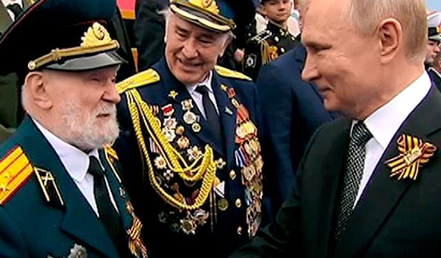 Ветеран поблагодарил Путина за возвращение Крыма в состав РФ