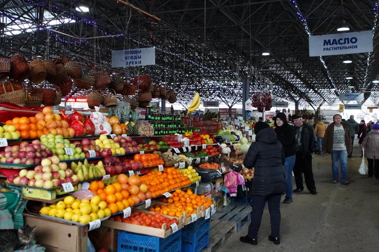 Севастопольский Центральный рынок оказался одним из лучших в России