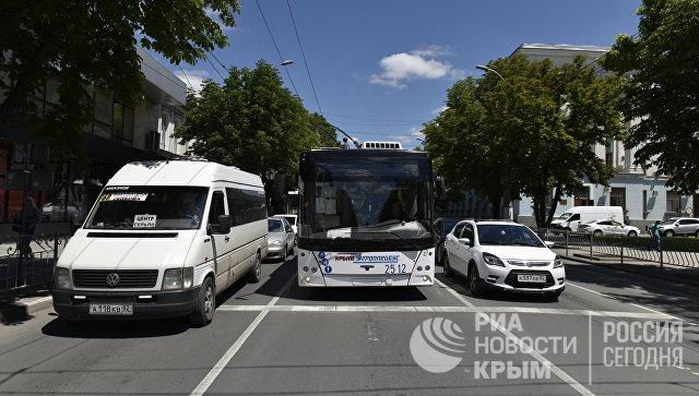 Пять маршрутов в Симферополе изменили схемы движения