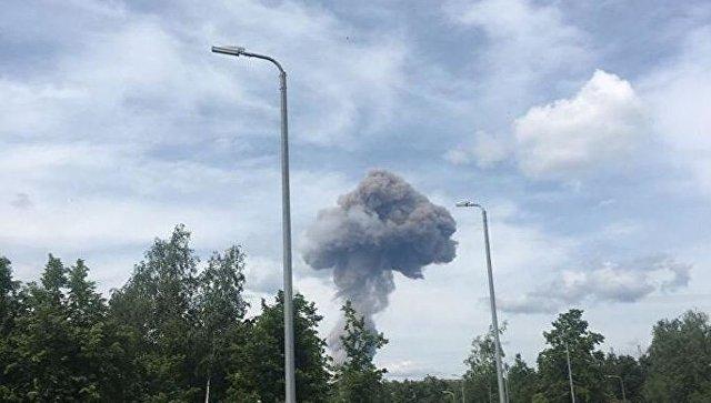 Мощные взрывы и пожар на заводе в Дзержинске: пострадали около 40 человек