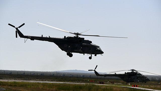 Вертолеты в Крыму включают станции РЭБ из-за угрозы провокаций от Украины