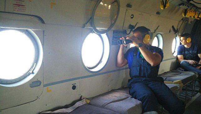 К поиску пропавшего в море аквалангиста привлекли авиацию