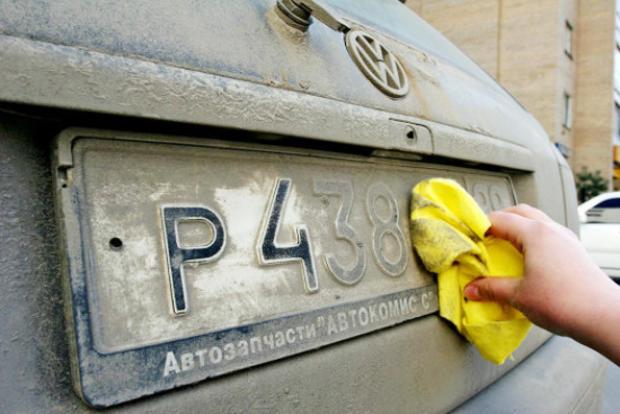 Водителей с грязными номерами будут лишать прав