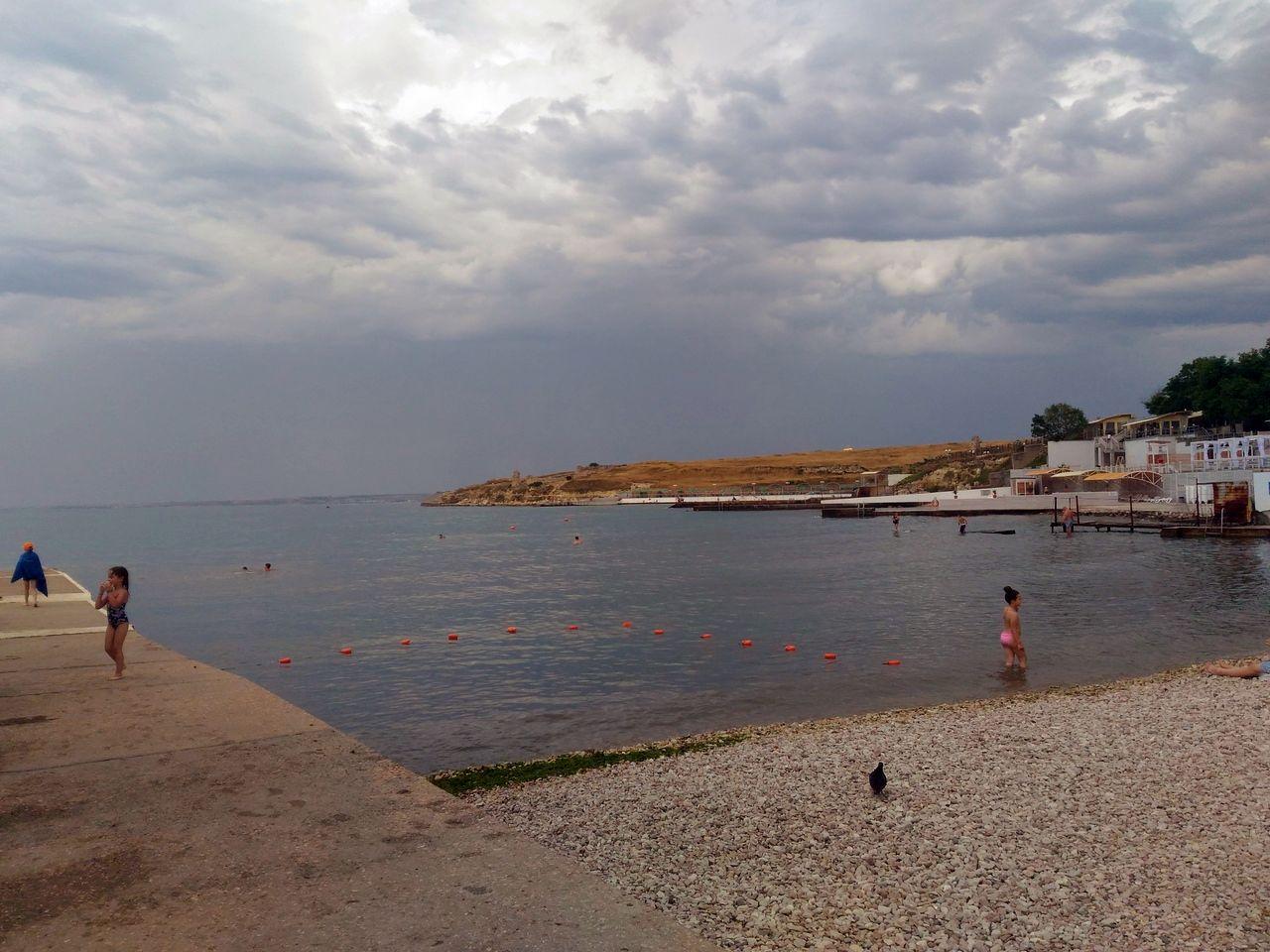 В каком состоянии пляж «Песочный» встречает отдыхающих