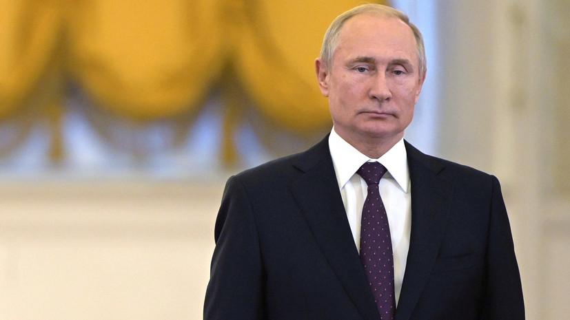 Путин призвал спокойно решить вопрос с возвращением украинских моряков