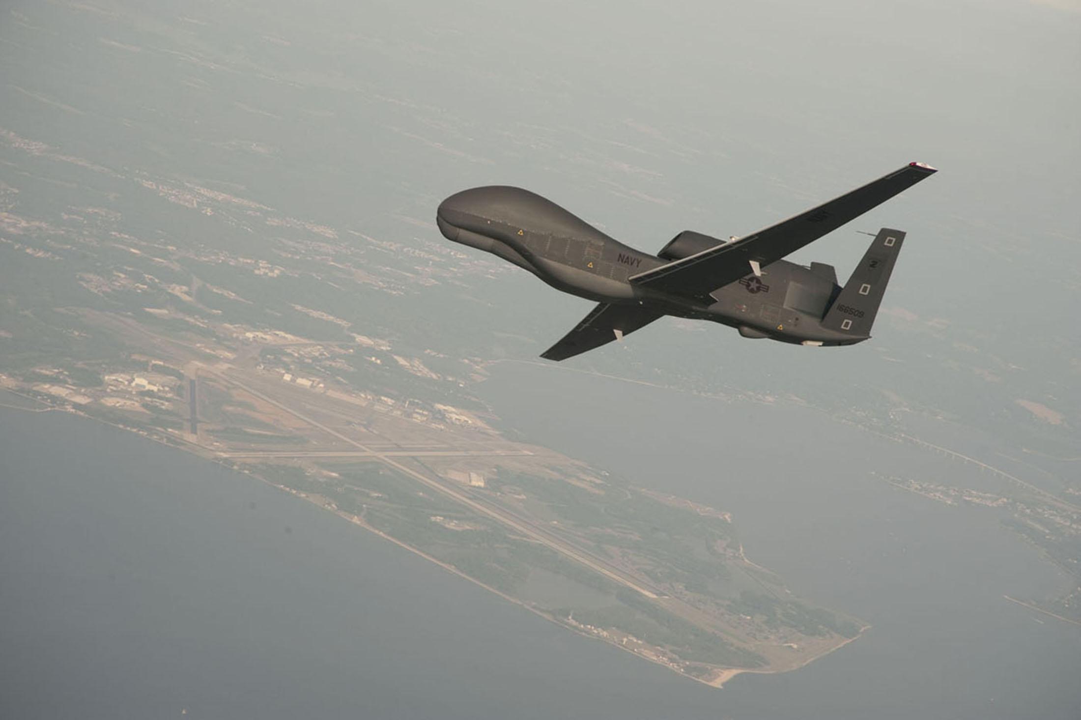 Два военных самолета США заметили у Крыма