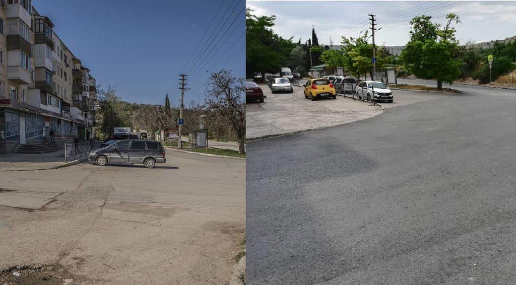 На пяти балаклавских дорогах завершены основные дорожные работы