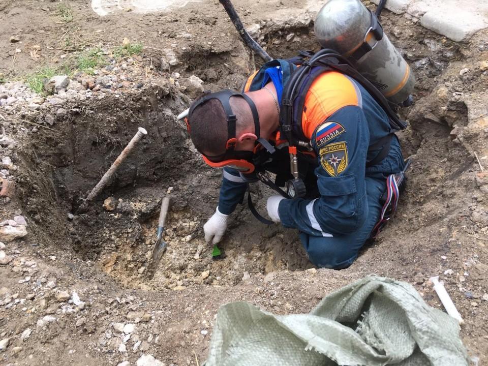 Из грунта в Севастополе извлекли три килограмма ртути