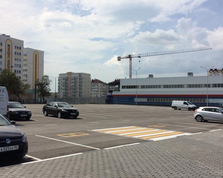 В Севастополе открыли новую парковку