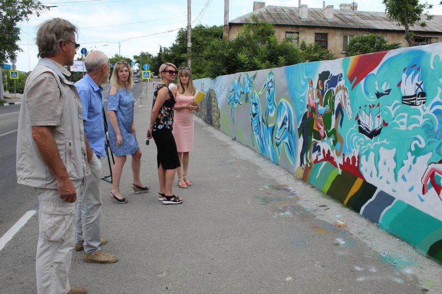 В Севастополе не смогли выбрать победителя фестиваля граффити