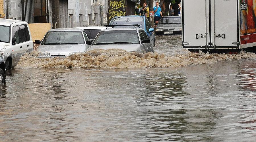Краснодар ушел под воду после сильнейших ливней