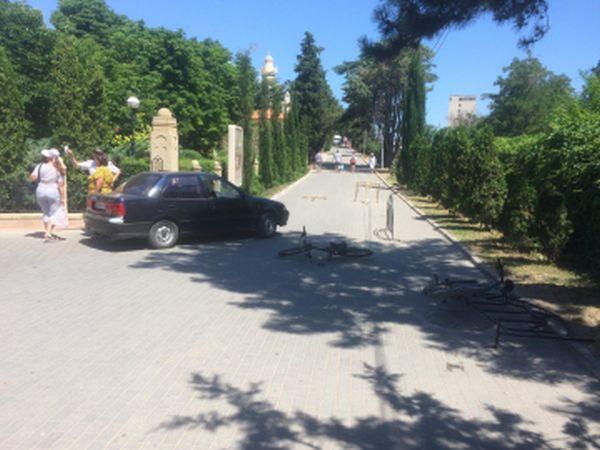 В Крыму автомобилист сбил девятилетнего велосипедиста