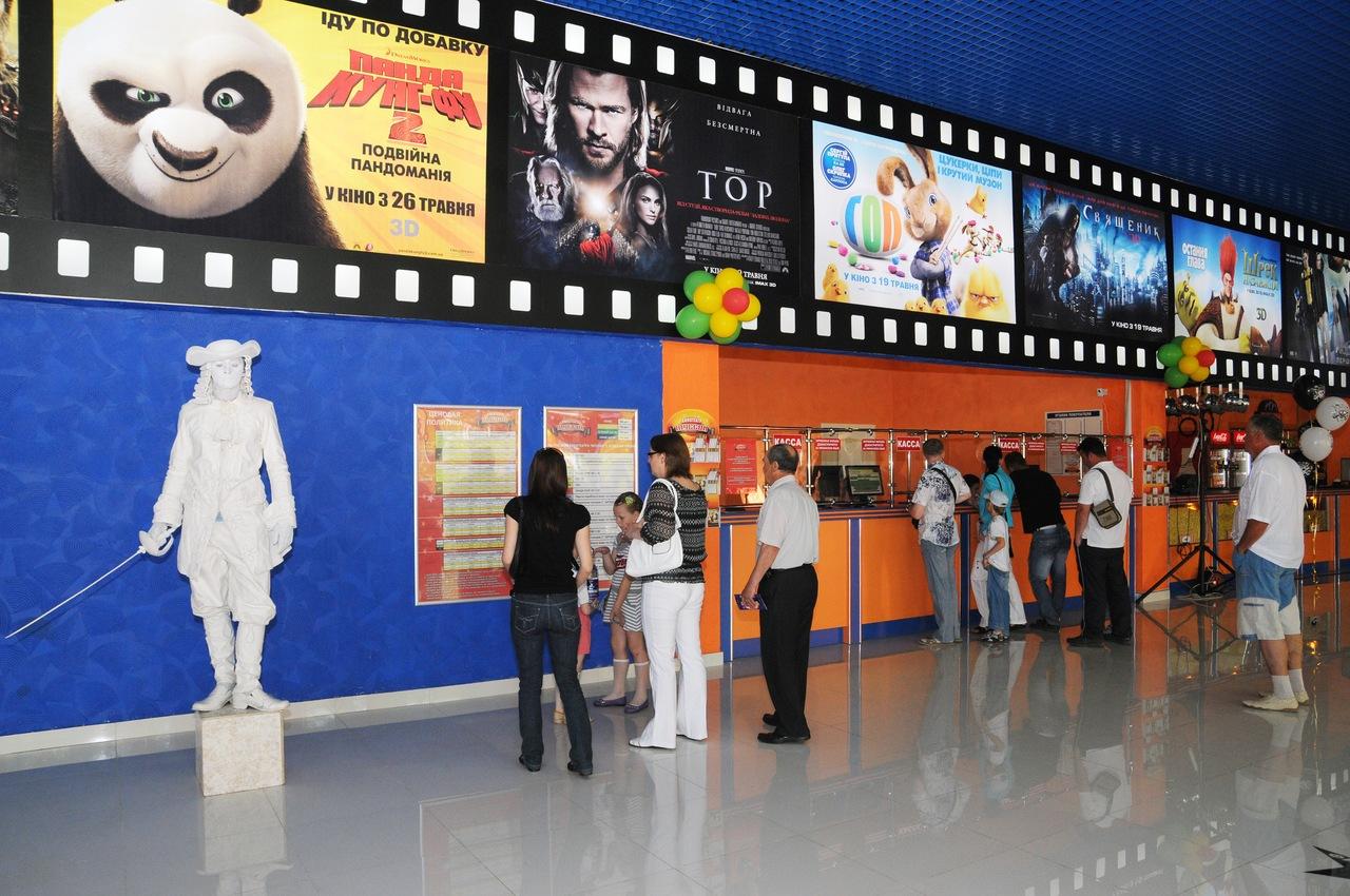 В Муссоне открыли все залы кинотеатра
