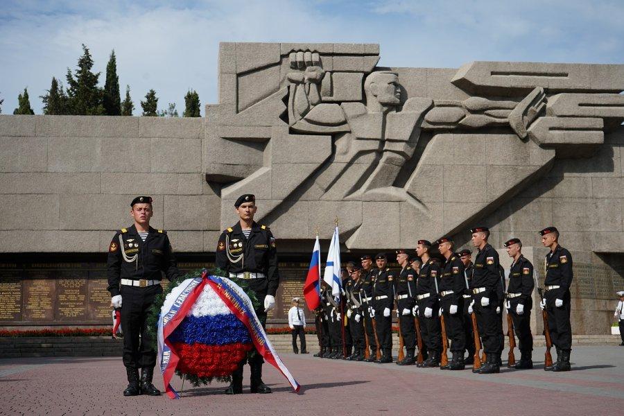 В Севастополе начали отмечать День России
