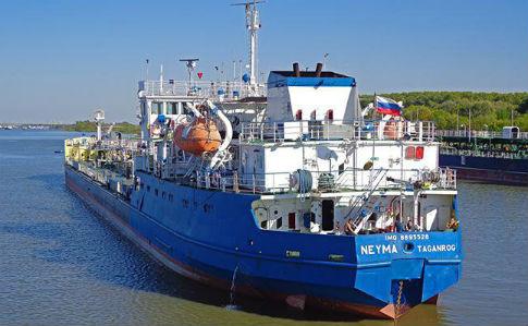 СБУ сообщила о задержании российского танкера