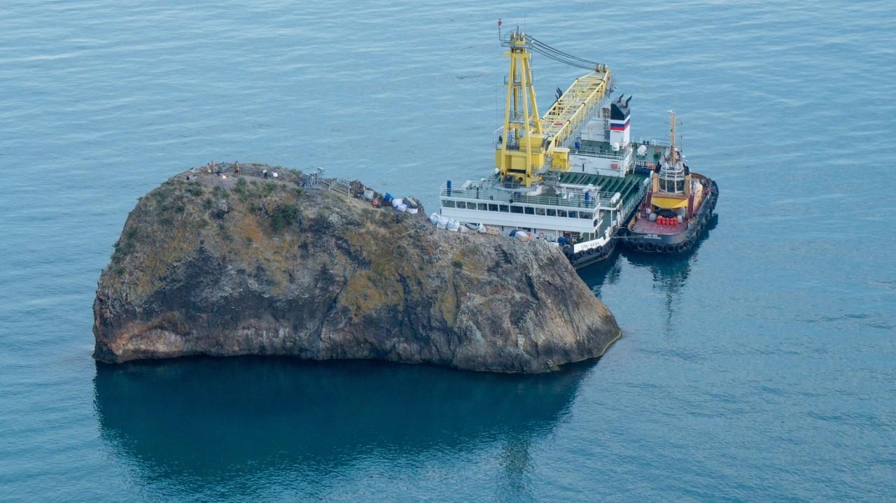 Когда установят новый 8-метровый крест на Георгиевской скале на Фиоленте