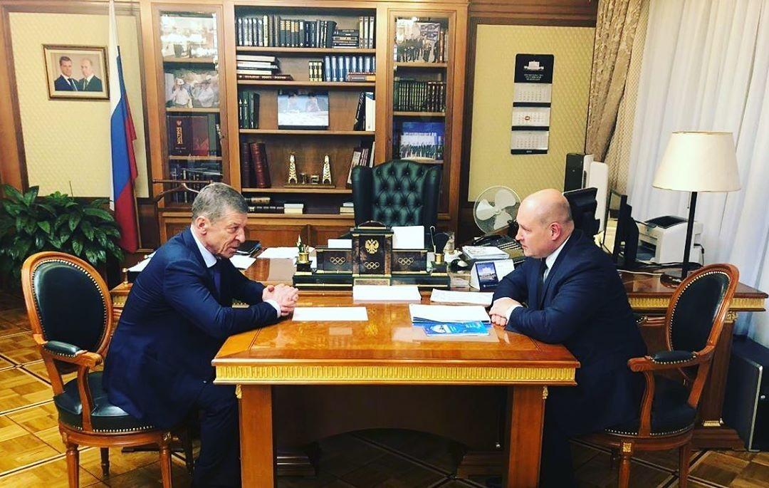 Михаил Развожаев обсудил развитие Севастополя с вице-премьером Дмитрием Козаком