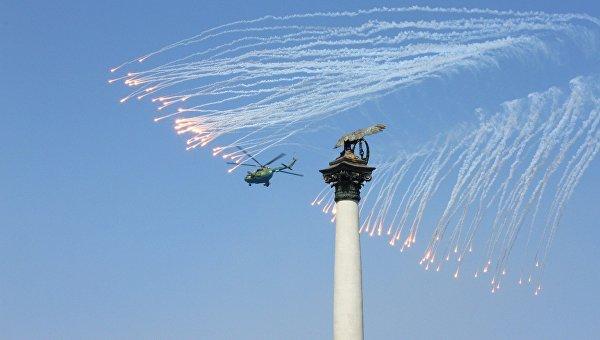Парад кораблей и залпы реактивных систем: Севастополь отмечает День ВМФ