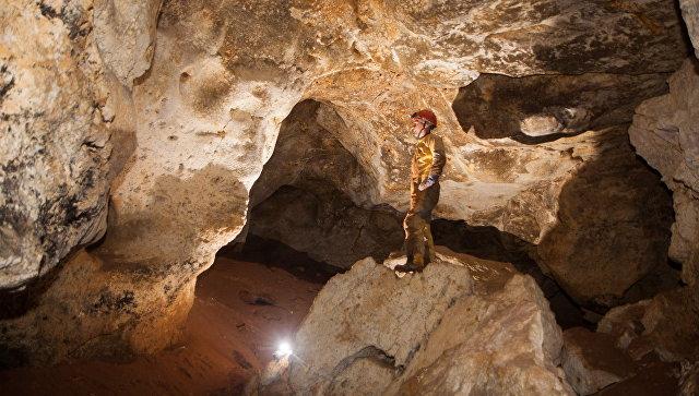 Как выглядит недавно найденная пещера под трассой «Таврида»