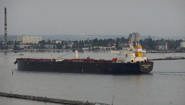 На Украину доставили первую партию нефти из США