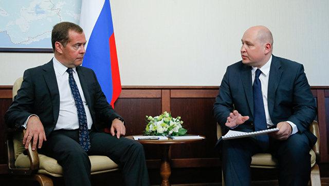 Развожаев попросил помощи у Медведева