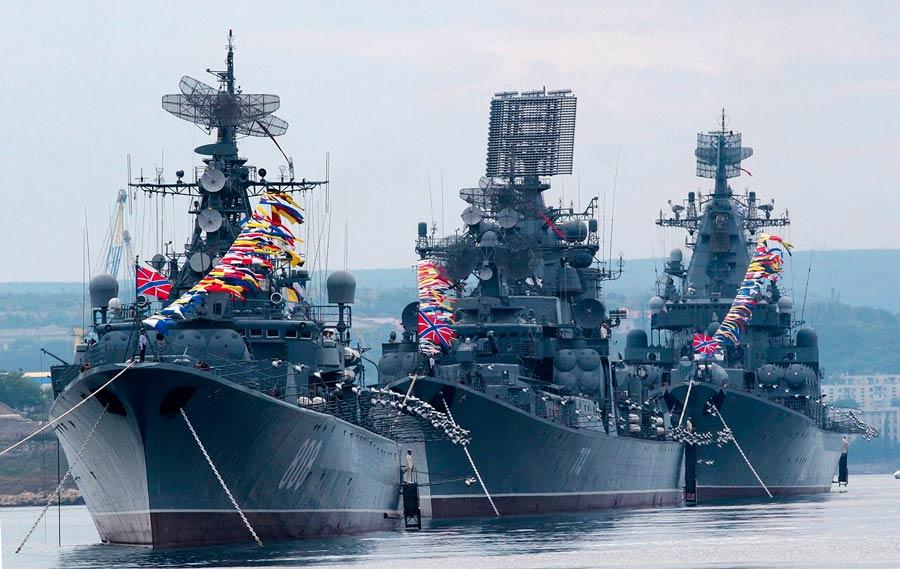 Репетиции, парад, выставка техники и ограничение движения: все, что нужно знать о Дне ВМФ в Севастополе