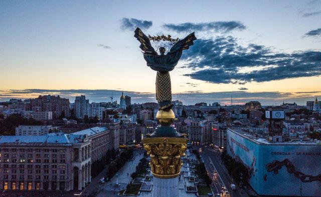 Теракт в Киеве: здание украинского телеканала обстреляли из гранатомета